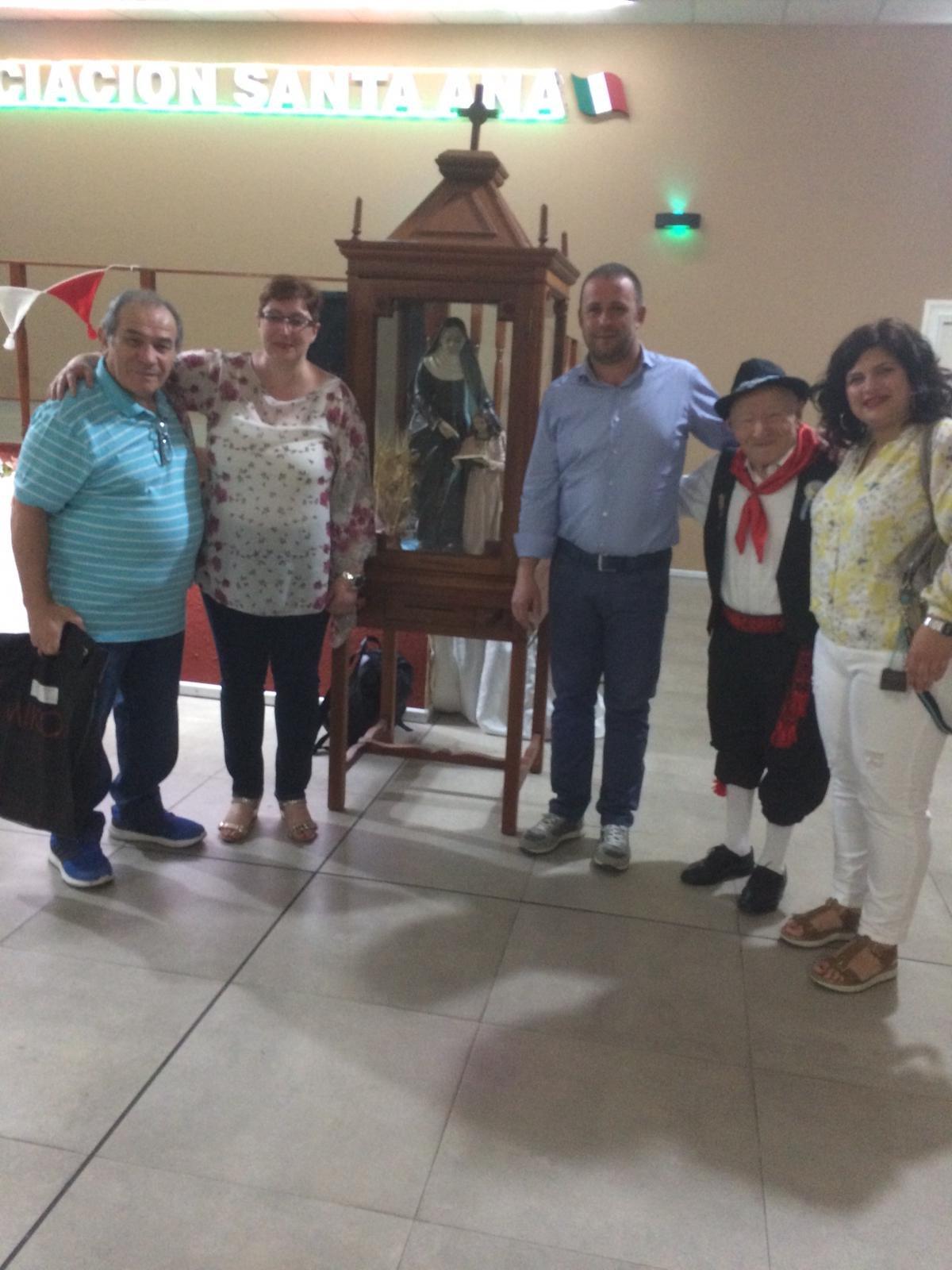 Cena sociale con la delegazione del Comune di Jelsi e i partecipanti del Cammina Molise con le varie associazioni di molisani in Argentina