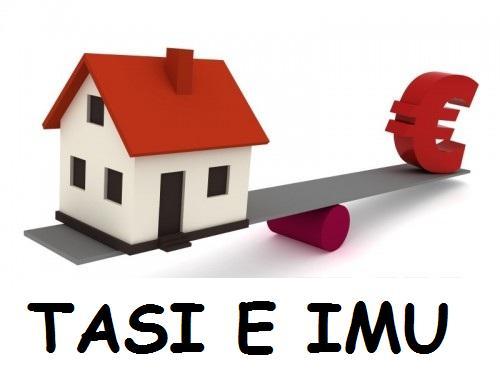 AVVISO: Aliquote IMU-TASI