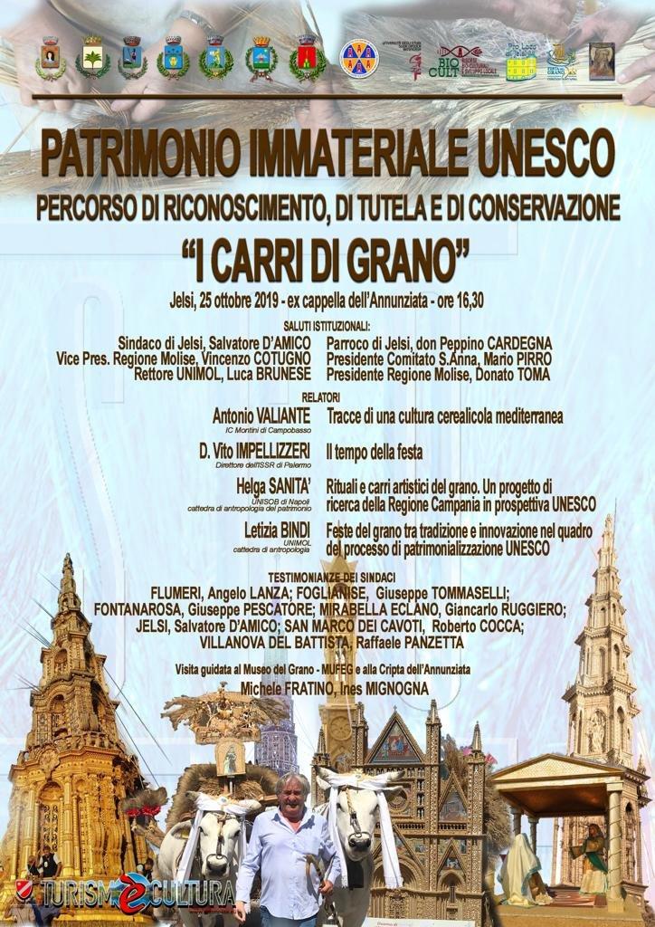 """25/10/19 Convegno """"I Carri di Grano"""""""